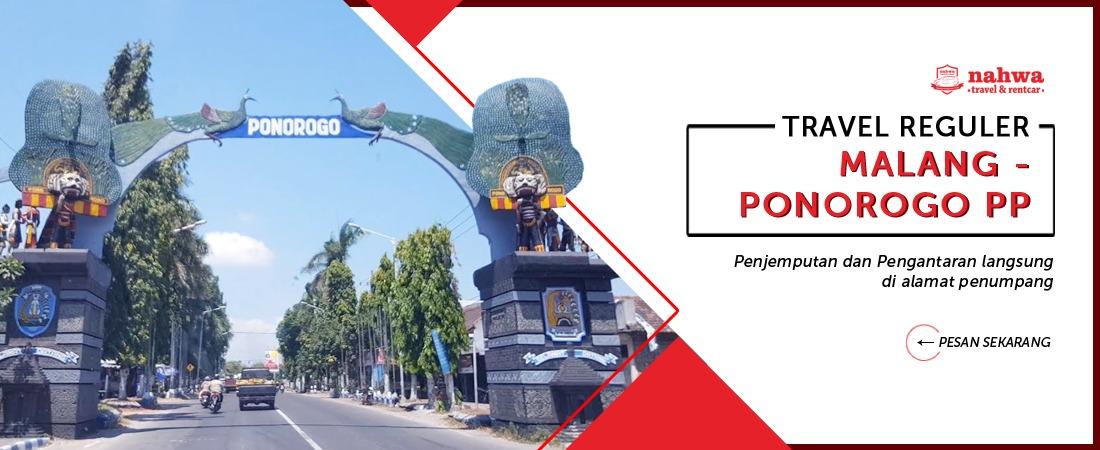travel malang ponorogo murah